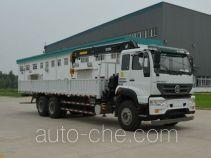 Sida Steyr ZZ5251JSQM574GD1 truck mounted loader crane