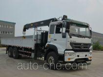 Sida Steyr ZZ5251JSQM574GD1H truck mounted loader crane