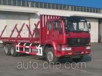 斯达-斯太尔牌ZZ5251TYM5641C1型木材运输车