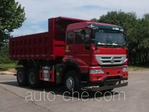 斯达-斯太尔牌ZZ5251ZLJN3641E1型自卸式垃圾车