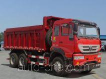 斯达-斯太尔牌ZZ5251ZLJN364GD1型自卸式垃圾车