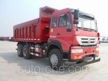 斯达-斯太尔牌ZZ5251ZLJN3841E1型自卸式垃圾车