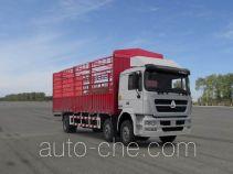 Sida Steyr ZZ5253CCYM56C1C1A грузовик с решетчатым тент-каркасом