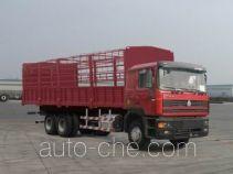 Sida Steyr ZZ5253CLXM4341C1 грузовик с решетчатым тент-каркасом