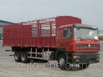Sida Steyr ZZ5253CLXM5841C1 грузовик с решетчатым тент-каркасом