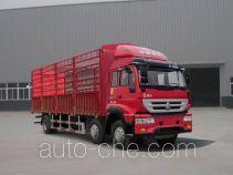 黄河牌ZZ5254CCYK48C6D1型仓栅式运输车