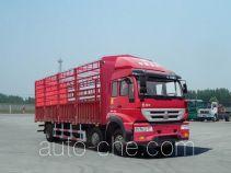 黄河牌ZZ5254CCYK56C6D1型仓栅式运输车