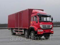 黄河牌ZZ5254XXYK42C6D1型厢式运输车