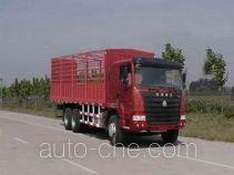 豪运牌ZZ5255CLXM5245C型仓栅式运输车