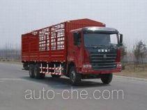 豪运牌ZZ5255CLXN5245C型仓栅式运输车