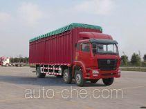 Sinotruk Hohan ZZ5255CPYK56C3C1 soft top box van truck