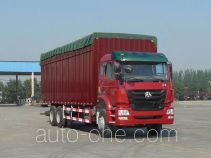 Sinotruk Hohan ZZ5255CPYM5846C1 soft top box van truck