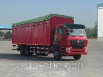Sinotruk Hohan ZZ5255CPYN5246C1 soft top box van truck