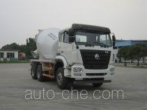 豪瀚牌ZZ5255GJBK3243E1型混凝土搅拌运输车