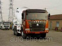 豪运牌ZZ5255GJBM3845C型混凝土搅拌运输车