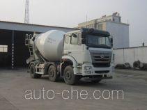 豪瀚牌ZZ5255GJBN27C3E1型混凝土搅拌运输车