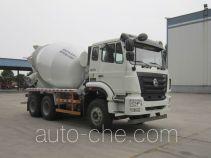 豪瀚牌ZZ5255GJBN3243E1型混凝土搅拌运输车