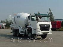 豪瀚牌ZZ5255GJBN3646C1型混凝土搅拌运输车