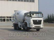豪瀚牌ZZ5255GJBN3646D1型混凝土搅拌运输车