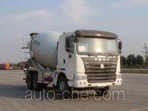 豪运牌ZZ5255GJBN3845C2L型混凝土搅拌运输车