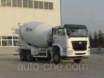 豪瀚牌ZZ5255GJBN4146D1型混凝土搅拌运输车