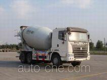 豪运牌ZZ5255GJBN4345C2L型混凝土搅拌运输车