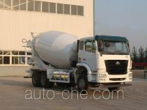 豪瀚牌ZZ5255GJBN4346D2L型混凝土搅拌运输车