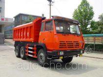 斯达-斯太尔牌ZZ5256BM294K型自卸式垃圾车