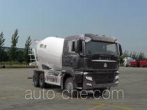 汕德卡牌ZZ5256GJBN384MD1型混凝土搅拌运输车