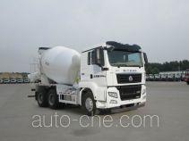 汕德卡牌ZZ5256GJBV364MD1型混凝土搅拌运输车