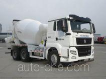 汕德卡牌ZZ5256GJBV384MD1型混凝土搅拌运输车