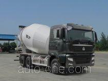 汕德卡牌ZZ5256GJBV404MD1型混凝土搅拌运输车