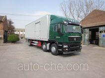 汕德卡牌ZZ5256XXYN56CGE1型厢式运输车