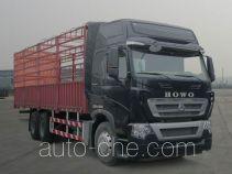 豪沃牌ZZ5257CCYN464MD1型仓栅式运输车