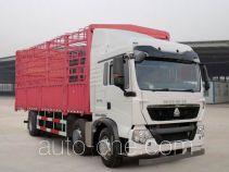 豪沃牌ZZ5257CCYN56CGD1型仓栅式运输车