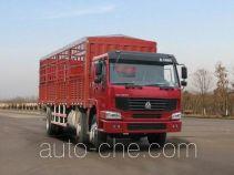 豪泺牌ZZ5257CLXM50C7A型仓栅式运输车