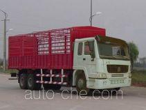 豪泺牌ZZ5257CLXM5241W型仓栅式运输车