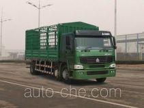 豪泺牌ZZ5257CLXM56C7A型仓栅式运输车