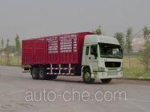 豪泺牌ZZ5257CLXM5841V型仓栅式运输车