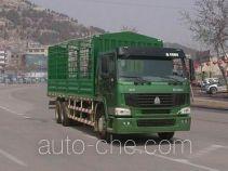 豪泺牌ZZ5257CLXM5847C型仓栅式运输车