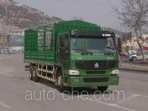 豪泺牌ZZ5257CLXM58F7A型仓栅式运输车
