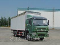 Sinotruk Howo ZZ5257CPYM4647D1 soft top box van truck