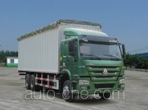 Sinotruk Howo ZZ5257CPYM5247D1 soft top box van truck