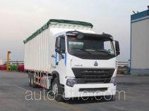 Sinotruk Howo ZZ5257CPYM5247P1 soft top box van truck