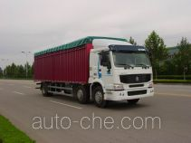 Sinotruk Howo ZZ5257CPYM56C7C1A soft top box van truck