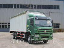 Sinotruk Howo ZZ5257CPYN4347D1 soft top box van truck