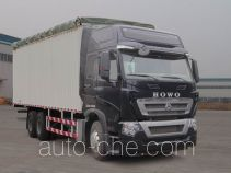 Sinotruk Howo ZZ5257CPYN464MD1 soft top box van truck
