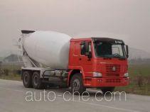 豪泺牌ZZ5257GJBM3641W型混凝土搅拌运输车
