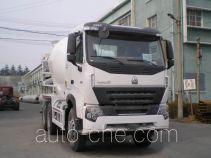 豪泺牌ZZ5257GJBM3647N1型混凝土搅拌运输车