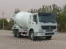豪泺牌ZZ5257GJBM3847C型混凝土搅拌运输车
